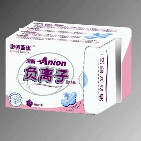 奥薇蓝戴卫生巾日用10片/包(10包起售)