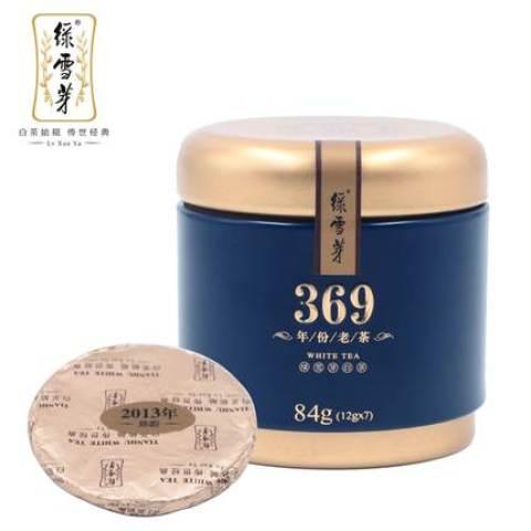 【口粮茶】绿雪芽·紧压白茶84g