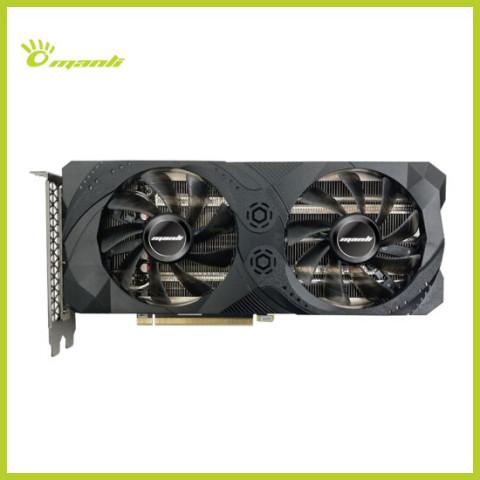 Manli万丽RTX3060Ti 8G台式机电脑全新独立电竞吃鸡游戏显卡