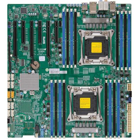 超微 X10DAi 双路cpu 2011 E5-26xxV3V4 双千兆 3PCIe*16 支持雷电 工作站主板