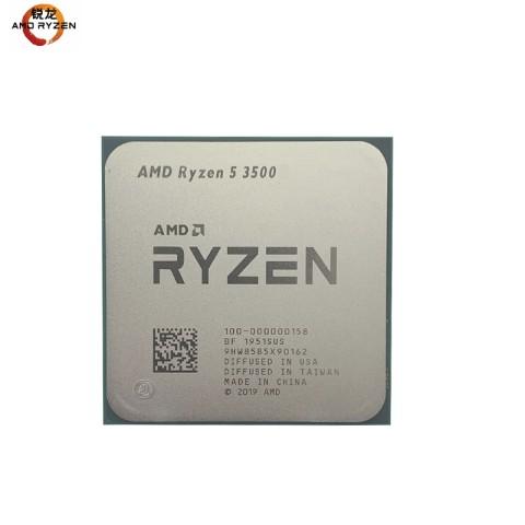 AMD  锐龙R5-3500 3.6G六核六线程 AM4针脚 散片