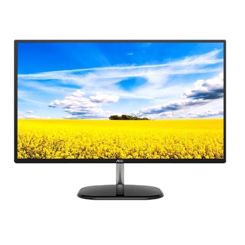 AOC  Q32V3S/BS 31.5英寸2K高清电脑黑色显示器 HDMI+DP